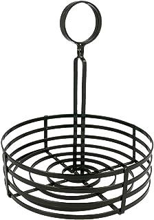 Garcia de Pou 铁质篮,20 x 25 厘米,黑色,均码