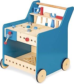 "PINOLINO 229464 工具车 ""Kalle"" 蓝色 透明"