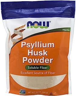 NOW Foods 诺奥 洋车前子壳粉末,非转*项目验证,可溶性纤维,24 盎司(约 680.4 克)