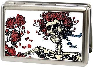 Buckle-Down 男士名片夹 - Grateful Dead,多色可选,10.16 厘米 x 7.42 厘米