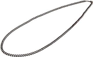 Phiten )项链炭化 チタンチェーンネックレス