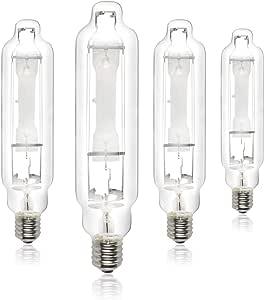 iPower GLBULBM400 400-Watt MH Grow Light Bulb for Magnetic and Digital Ballast 白色 600-Watt
