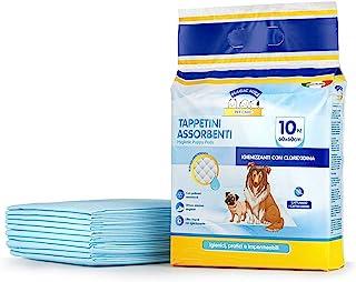 Clendy 宠物卫生垫,10件,蓝色,60 x 60厘米