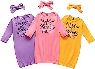 新生儿婴儿睡袍和头巾印花彩虹婴儿睡袋 婴儿居家服装