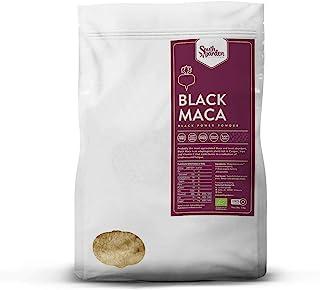 Black Maca Root Powder Peruvian Organic 1 Kg   SOUTH GARDEN   100% Black Peruvian Maca   Sports Supplement   Vegan   Glute...