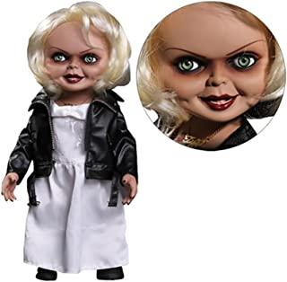 Mezco Bride of Chucky Tiffany 15 英寸会说话的玩偶 15 years to 18 years One Size 多色