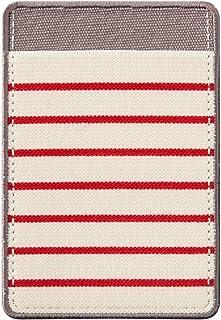 Designphil Midori 口袋贴纸 横条纹 红色 82484006