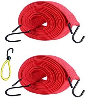 多功能弹性绷带带金属挂钩、手推车、货运、移动、露营、房车、手提箱、摩托车、行李架、篷布领带