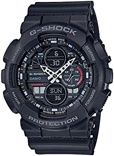 G-ShockGA-140-1A1 Analog-Digital 树脂 黑色 GA-140-1A1 sport-watches