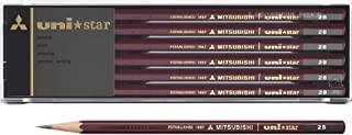 三菱铅笔 铅笔 uni star 系列 2B 1cm×19cm