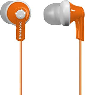 Panasonic 松下电器 ErgoFit RP-HJE120-D 入耳式耳机(橙色),动态,晶莹剔透的声音,符合人体工程学的舒适度