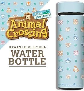 Controller Gear Animal Crossing: New Horizons - 户外图案真空绝缘不锈钢运动水瓶,防漏,宽口,17 盎司(约 481.9 克),500 毫升 - 非特定机器