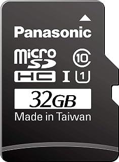 Panasonic 松下电器 产业用/业务用 高耐久microSD卡 3D TLC 32GB TC系列 RPTMTC32SWA