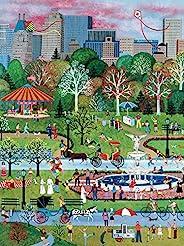 Ceaco 550 件 Jane Wooster Scott - Springtime in Central Park 儿童与成人