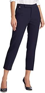 Ralph Lauren 拉夫·劳伦 女式*蓝拉链七分裤 XL 码
