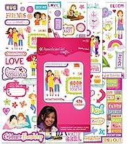 American Girl Crafts 女孩贴纸垫