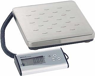Maul 包装秤 MAULexpress 承重 120 千克,独立操作架,不锈钢秤计数功能,50 克,银色,1 件