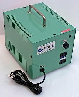 日章工业 变压器 海外 普及型 AC220V→AC100V 1500W NDF系列 NDF-1500E