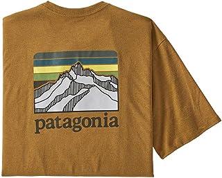 Patagonia 男士内衣 M's Line Logo Ridge Pocket ResponsibiliT 恤