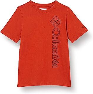 Columbia 男童 Happy Hills 短袖图案 T 恤