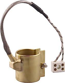 DERNORD 110V 250W 35mmx45mm 注塑模具加热元件 黄铜带加热器 适用于注塑机