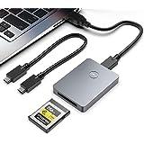CFexpress 读卡器,Rocketek 便携式铝制 B 型 CFexpress 读卡器,支持 USB3.1 Gen…