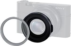 Sony 索尼 VFA-49R1 49 毫米过滤器适配器,适用于 DSC-RX100