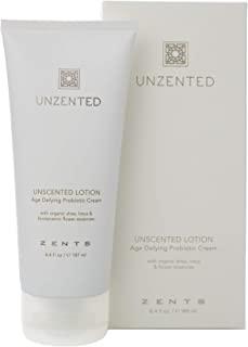 Zents **身体和手部乳液,含*乳木果油和维生素E,滋润和恢复皮肤,6.5 液体盎司/61 液体盎司(未zented)