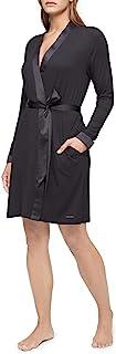Calvin Klein 女士莫代尔缎面休闲睡袍