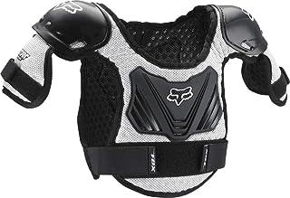 Fox Racing 中性儿童 Titan 摩托车越野赛 Roost Deflector,黑色/银色,M/L