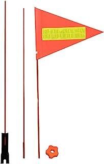 自行车*旗帜 自行车*三角旗 自行车旗帜 三部分 1.8m 山地自行车旗杆骑行设备玻璃纤维杆旗
