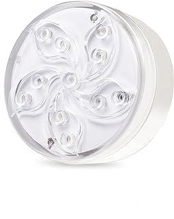 WGCC 潜水式 LED 泳池灯,IP68 防水淋浴 LED 灯,磁性浴缸灯带吸盘,射频遥控池 LED 灯水下适用于池塘喷泉水族馆花瓶花园派对 - 1 件