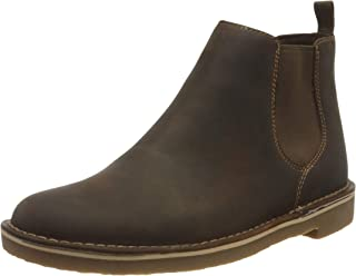Clarks 男士Bushacre 3切尔西靴沙漠靴