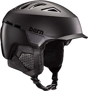 Bern Heist Brim MIPS 头盔,哑光黑色,中号