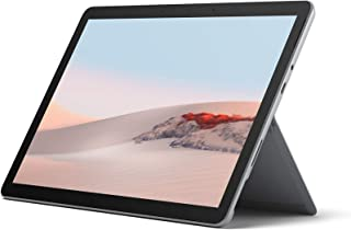 Microsoft 微软 Surface GO 2 10 英寸平板电脑 - (银色)(Intel Core M3 - WiFi,8 GB RAM,128 GB SSD,Windows 10 家庭 S 模式,2020 型号)