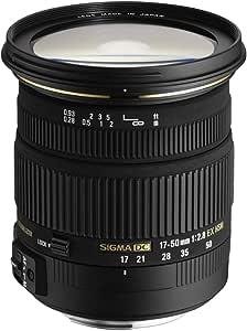 Sigma 17-50 mm F2,8 EX DC OS HSM 镜头 (77 mm 滤镜螺纹) 适用于Nikon尼康镜头接口