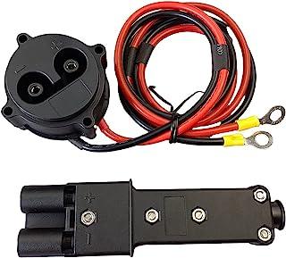 N\W 48 伏直流充电器插头,Powerwise 插座套件适用于雅马哈电气 G19-G29 高尔夫球车 #JR1-H235A-00 JR1-H6181-02 JW2-H6181 JW9-H6181