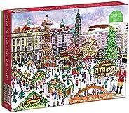Galison Michael Storrings 圣诞市场 1000 块拼图