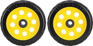 Rock-N-Roller R-Trac 后部 2 件装,20.32 厘米 x 5.08 厘米不平整车轮,适用于 R6 和 R8 多车,偏移轮毂(RWHLO8X2)