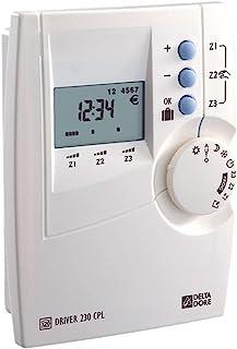 Delta Dore 6051101 电子取暖器 驱动程序 230 CPL – 可设置多达 3 个区域