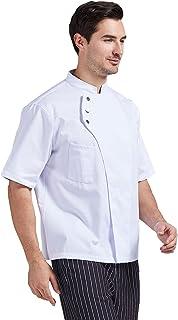 Nanxson 中性厨师夹克厨房短羊厨师外套男女 CFM0075