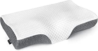ZAMAT Contour *泡沫枕,用于缓解颈部*,可调节人体工程学*颈枕,*颈枕带可水洗枕套,侧面、背部、腹部枕