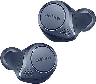 Jabra Elite Active 75t 无线立体声入耳式运动耳机(蓝牙5.0,带充电盒,可续航28小时),海军蓝