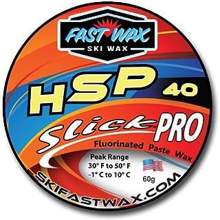 快速蜡 - HSP - 低碳氟光滑专业蜡(60 克) - 美国制造