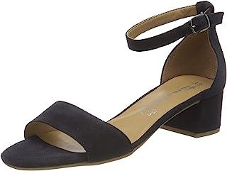 Tamaris 女士 1-1-28253-24 皮质系带凉鞋