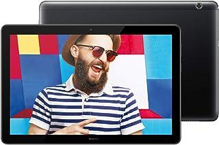 华为 MediaPad T5 - 10.1 英寸 Android 8.0 平板电脑,1080P 全高清显示屏,麒麟 695 八核处理器,RAM 2GB,ROM 32GB,双立体声扬声器,5100mAh 大电池,黑色