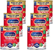 Mead Johnson 美赞臣 Enfagrow 3段婴幼儿奶粉 (适合1-3岁) 香草味 32盎司/约907.18克 罐装(6罐)(含DHA, PDX+GOS益生元组合)