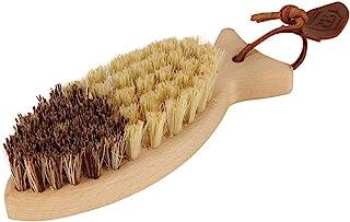 Redecker 橡皮筋 鱼型蔬菜刷子 292602 蔬菜用梳子
