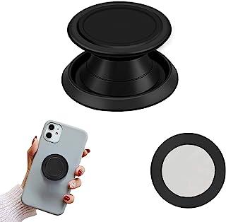 PJLJY 多功能手机支架,手机手指支架可折叠,适用于智能手机、手机和平板电脑