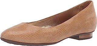 MARC JOSEPH NEW YORK 巴西制造女士皮革摩天街平底乐福鞋